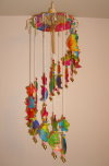 WC-013 Umbrella Mobile Wind-Chimes The Moon and Star Style